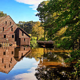 Yate Grist Mill by Marcia Colelli