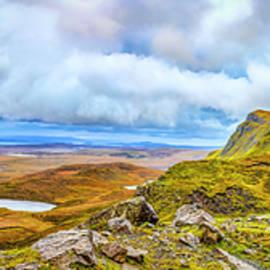 Yellow Autumn panoramic #i1 by Leif Sohlman