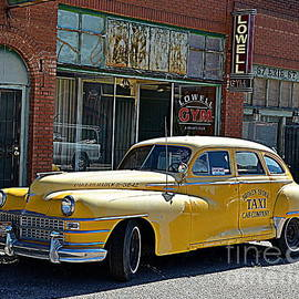 Yellow Cab by Tru Waters