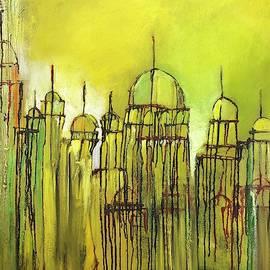 Yellow Mosque  by Nizar MacNojia