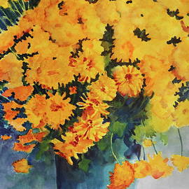 Patty Strubinger - Yellow Mums
