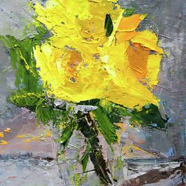 Yellow Roses by Nancy Merkle