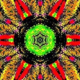 Yellow Sunflower 1b by Artist Dot