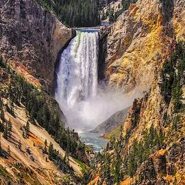 Yellowstone Lower Falls by Chance Kafka