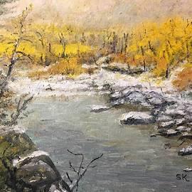 Yellowstone River by Sharon Karlson