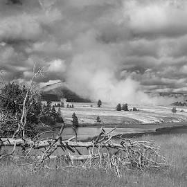 Yellowstone Steam by Matthew Irvin