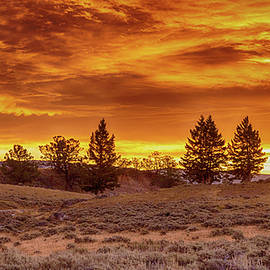 Yellowstone Sunrise by Stephen Stookey