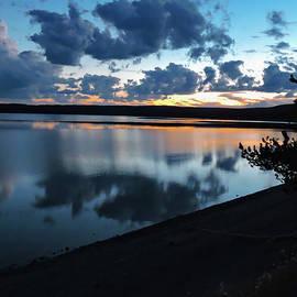 Yellowstone Sunset by Norma Brandsberg