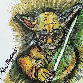 YODA Grand Master of the Jedi Order by Geraldine Myszenski