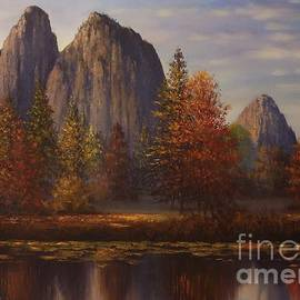 Yosemite Dawn Two revamped  by Sean Conlon