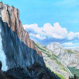 Yosemite Falls in Shadow by Steph Moraca