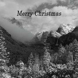Yosemite Merry Christmas by Norma Brandsberg