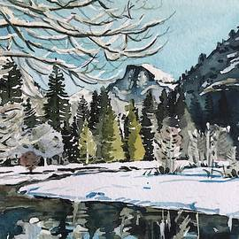 Yosemite Valley - December  by Luisa Millicent