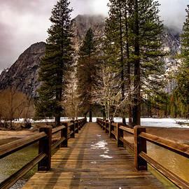 Yosemite Swinging Bridge by Norma Brandsberg