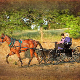 Young Amish Love by George Moore
