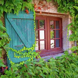 Yvoire Window by Norma Brandsberg