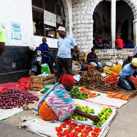 Zanzibar Market by Kay Brewer