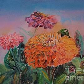 Zinnia Gardens by Mindy Newman