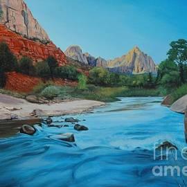 Zion National Park by Michael Nowak