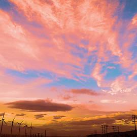 0278 Southern California Desert Sunsets by Amyn Nasser