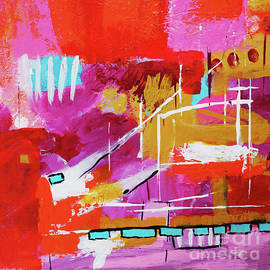 Abstract Impressionism Painting by Carolyn Rauh