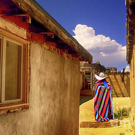 Acoma Pueblo New Mexico  by Bob Christopher