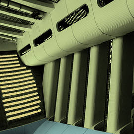 INSIDE THE SPACESHIP River City by William Dey