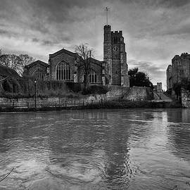 All Saints Maidstone and College Buildings by Dave Godden
