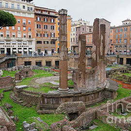 Archaeological area of Largo Torre Argentina. Rome. Italy by Beautiful Things