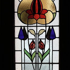 Art Nouveau Window by Michaela Perryman