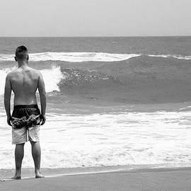 At The Beach by David Stasiak