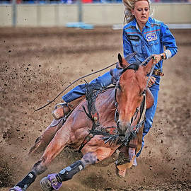 Barrel Racer by Rob Brown