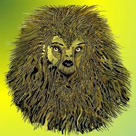 Beautiful Lioness by Belinda Threeths
