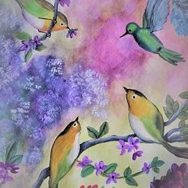 Birds' garden by Tara Krishna