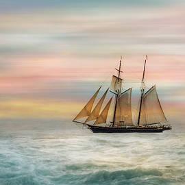 Black Dog Tall Ship 4 by Terry Davis