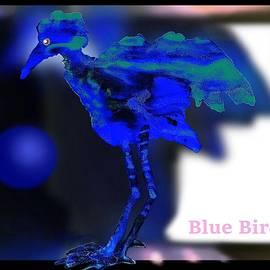 Blue  Bird by Hartmut Jager