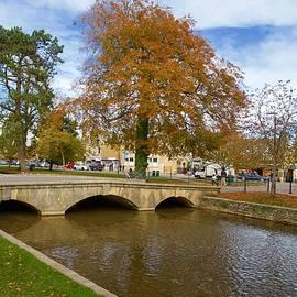 Bridge, Bourton-on-the-Water, Gloucestershire, England by Joe Vella