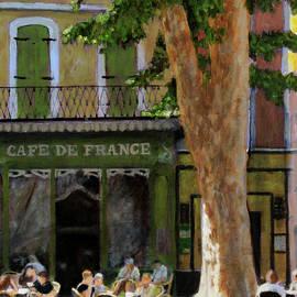 Cafe De France by David Zimmerman