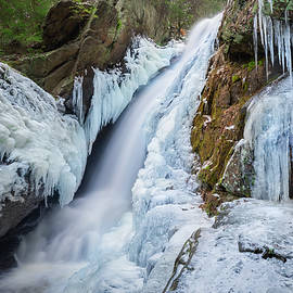 Campbell Falls Winter by Bill Wakeley