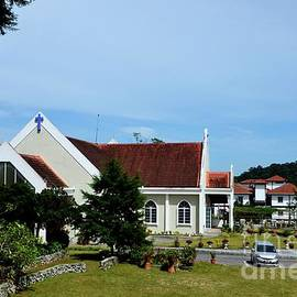 Chapel Of Our Lady Of Mount Carmel Church building on hill Tanah Rata Cameron Highlands Malaysia by Imran Ahmed