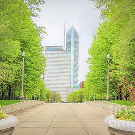 Chicago Cityscape by Helen Filatova