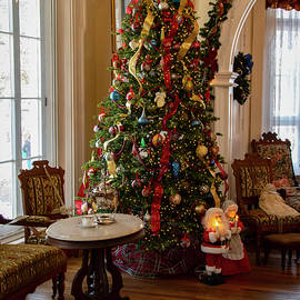 Christmas at the Octagon House  by LeeAnn McLaneGoetz McLaneGoetzStudioLLCcom