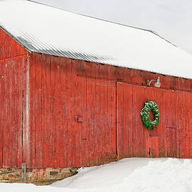 Christmas Barn by Mike Griffiths