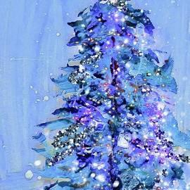 Christmas Tree  by Lavender Liu