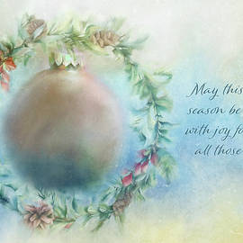 Christmas Wreath by Terry Davis