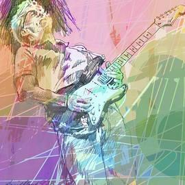 Clapton Blues Down by David Lloyd Glover