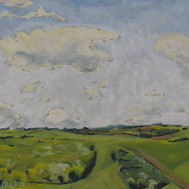 Clouds and Green by Francois Fournier
