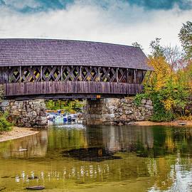 Squam River Covered Bridge in Ashland NH by Jeff Folger