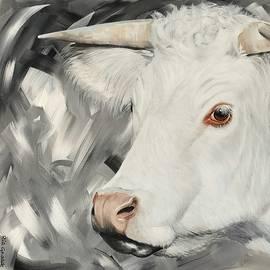 Cow by Rianns Art