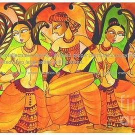 Dancers  by Ceylon Art Meditation
